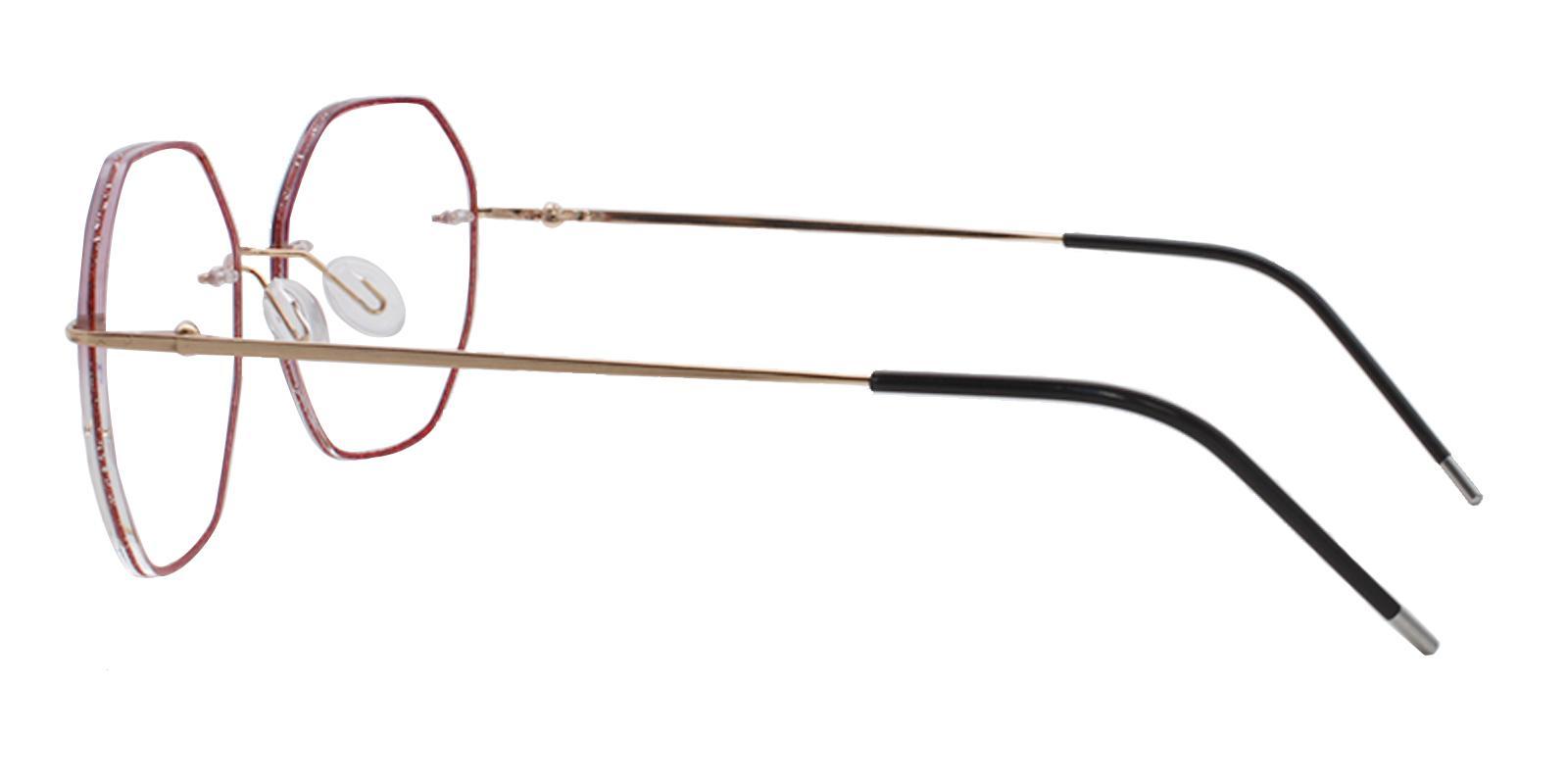 Piper Gold Titanium NosePads , Eyeglasses Frames from ABBE Glasses