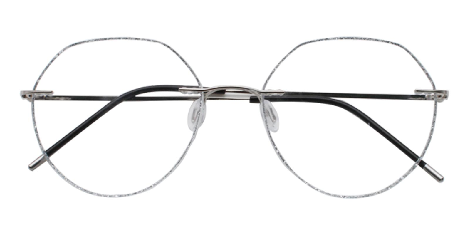 Piper Silver Titanium NosePads , Eyeglasses Frames from ABBE Glasses