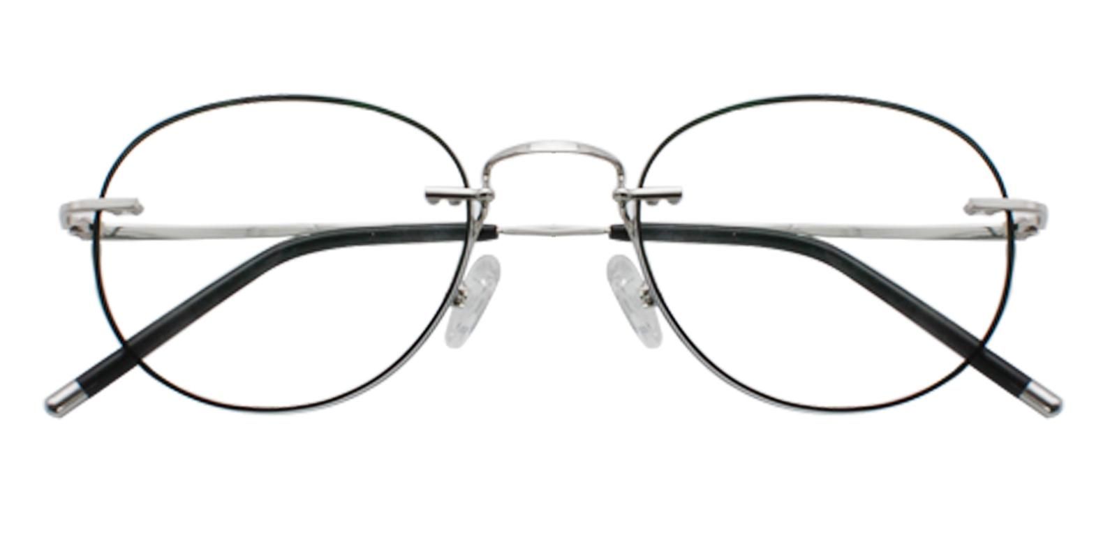 Jade Black Titanium NosePads , Eyeglasses Frames from ABBE Glasses