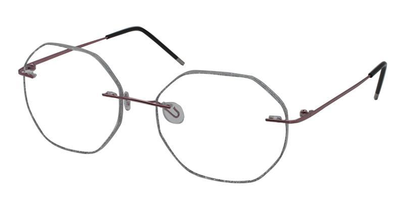 Pink Ceres - Titanium NosePads , Eyeglasses