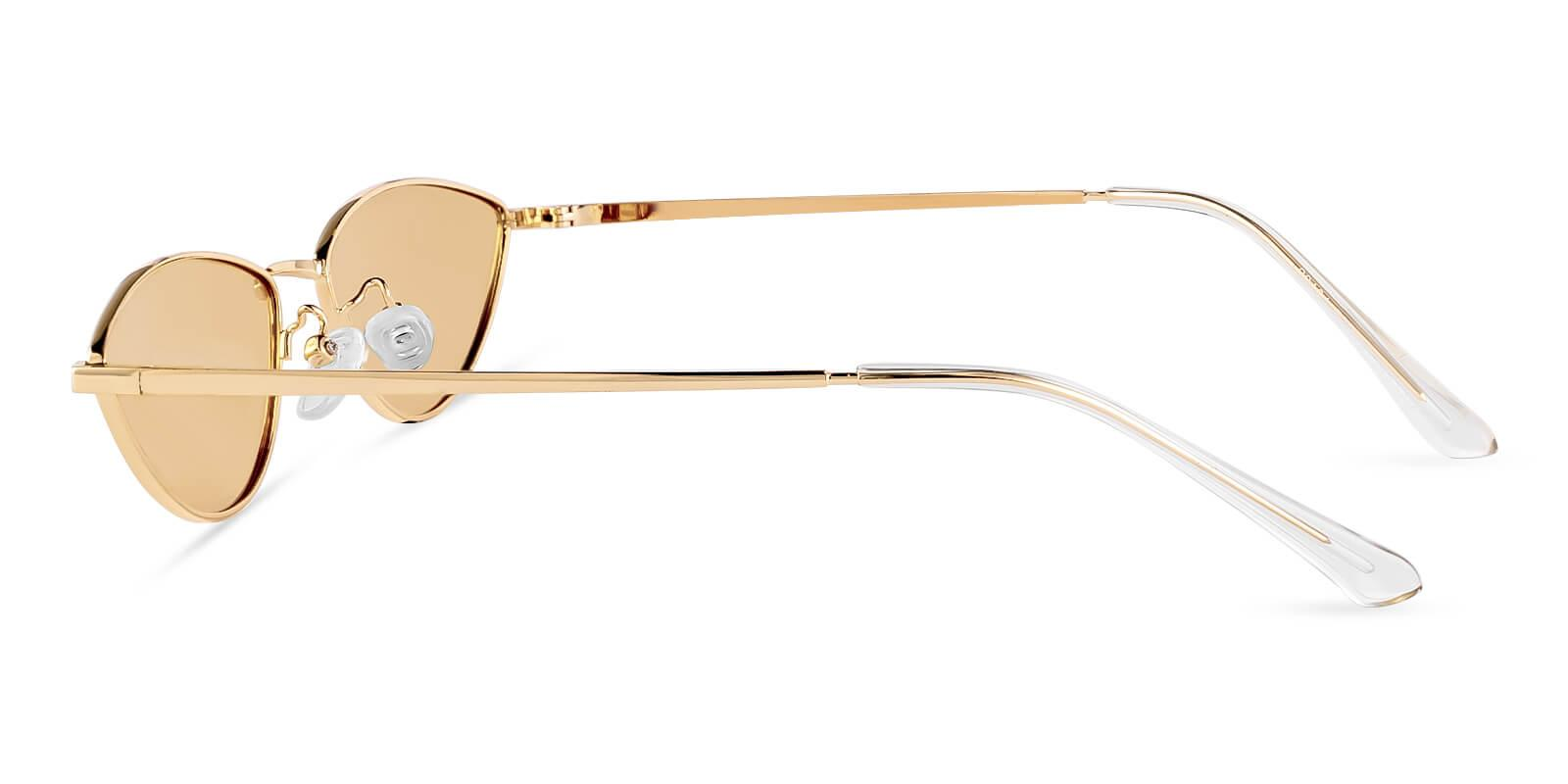 Echo Gold Metal Lightweight , NosePads , Sunglasses Frames from ABBE Glasses