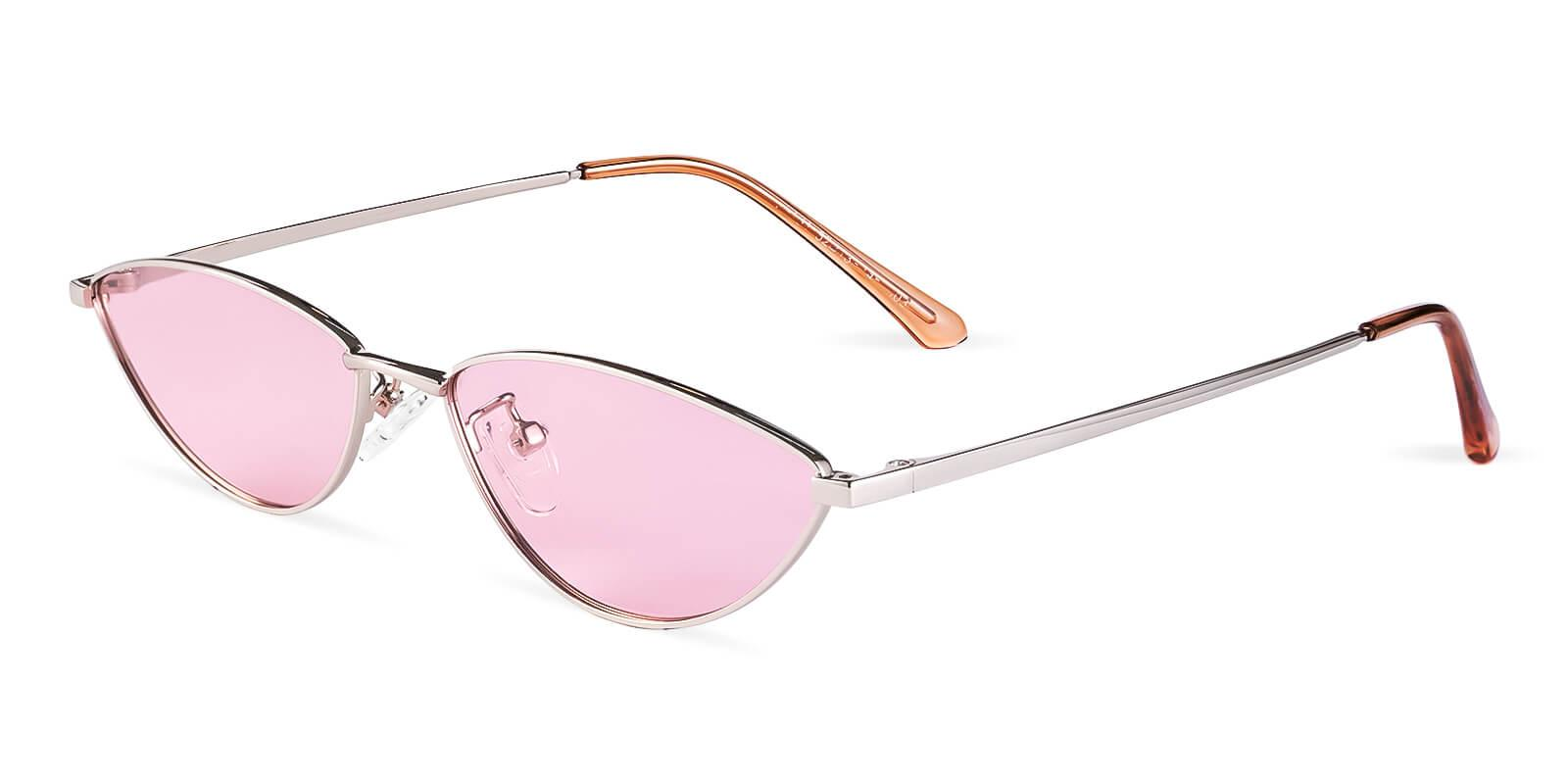 Echo Pink Metal Lightweight , NosePads , Sunglasses Frames from ABBE Glasses