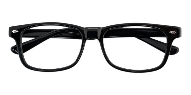 Black Wisdom - Acetate UniversalBridgeFit , Eyeglasses
