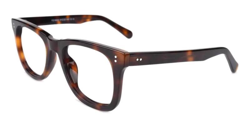 Tortoise Dean - Acetate Eyeglasses , UniversalBridgeFit
