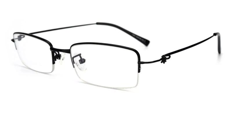 Black Chris - Metal Eyeglasses , NosePads
