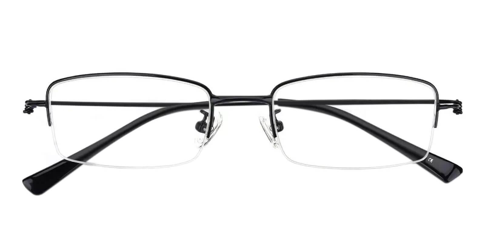 Chris Black Metal Eyeglasses , NosePads Frames from ABBE Glasses