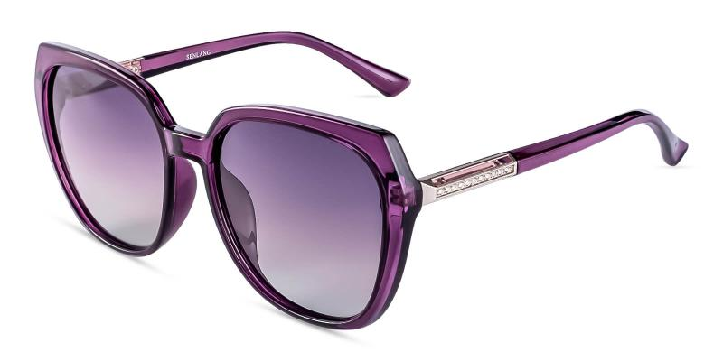 Purple Hecaba - TR Sunglasses , UniversalBridgeFit