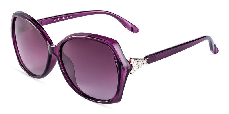 Purple Fly - TR Sunglasses , UniversalBridgeFit