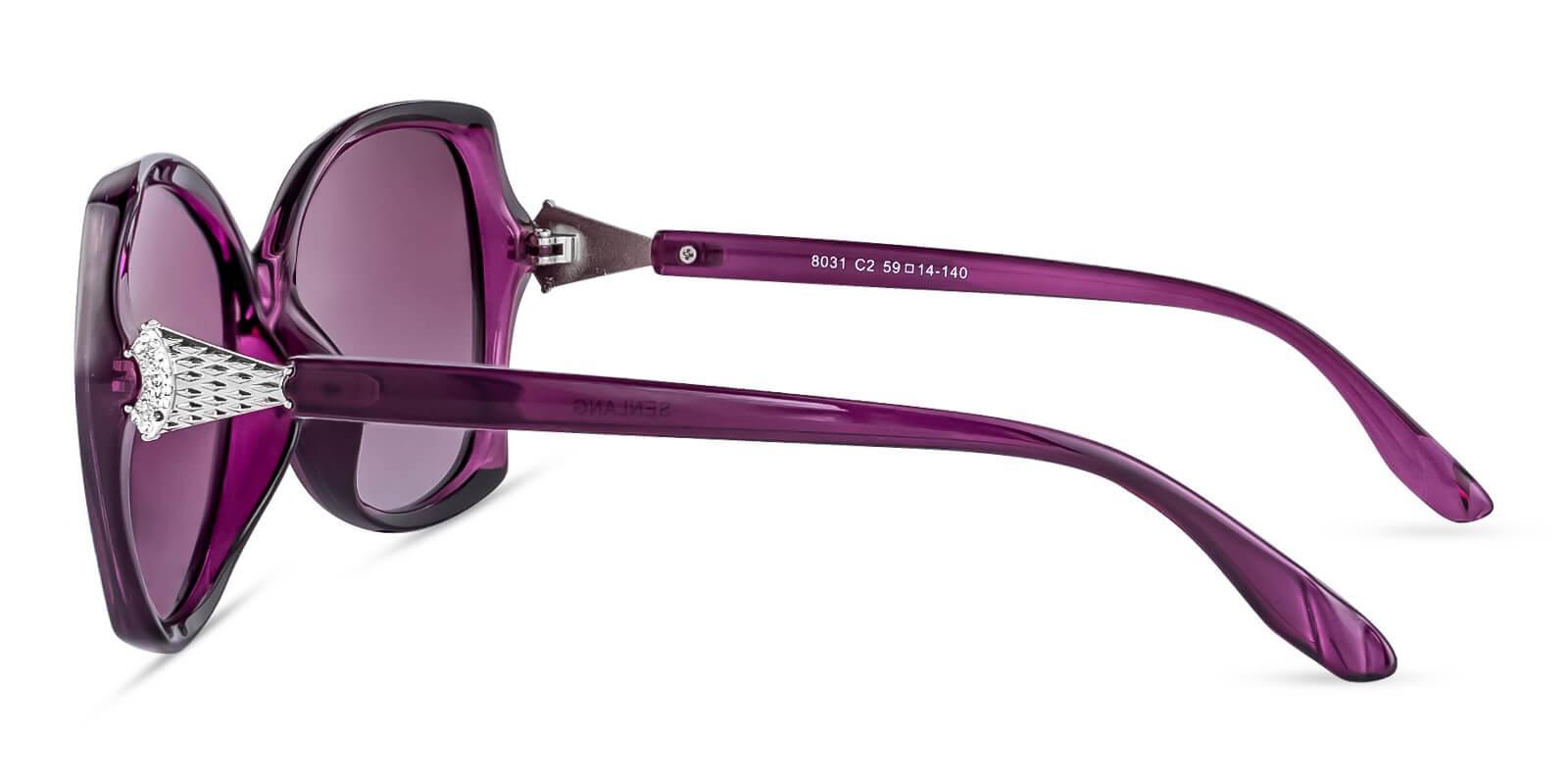 Fly Purple TR Sunglasses , UniversalBridgeFit Frames from ABBE Glasses