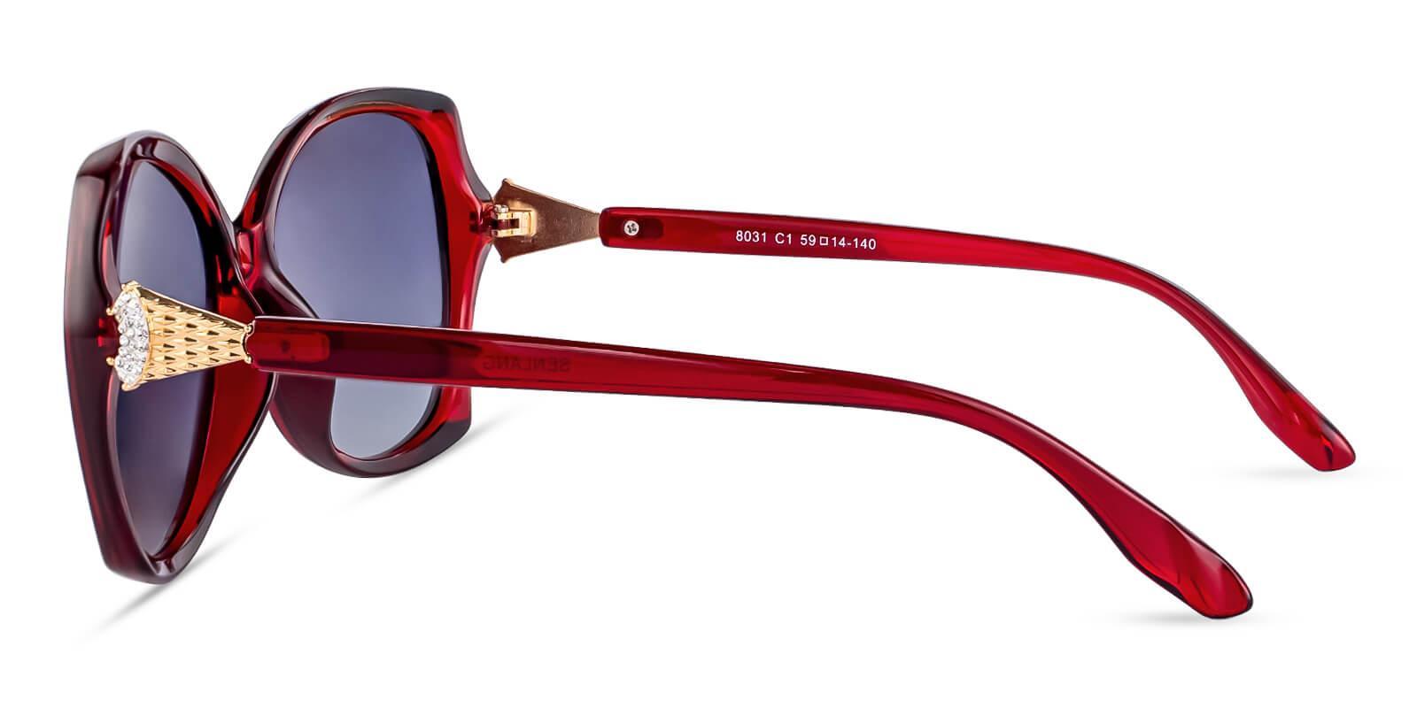 Fly Red TR Sunglasses , UniversalBridgeFit Frames from ABBE Glasses