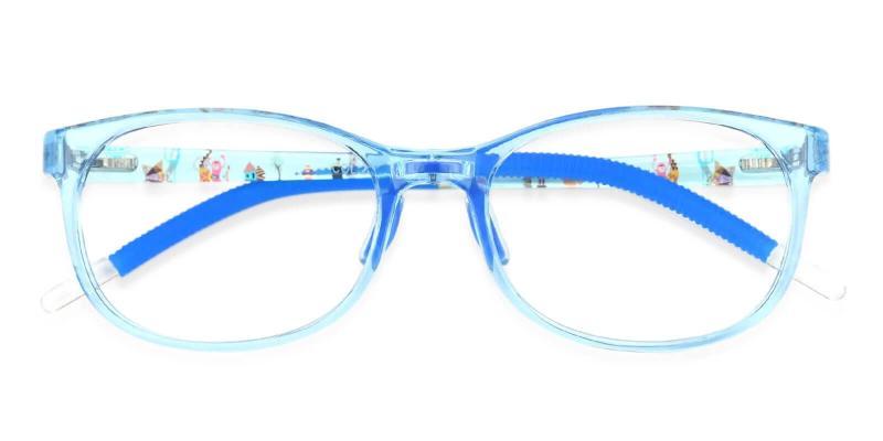 Blue Kids-Via - Acetate Eyeglasses , UniversalBridgeFit