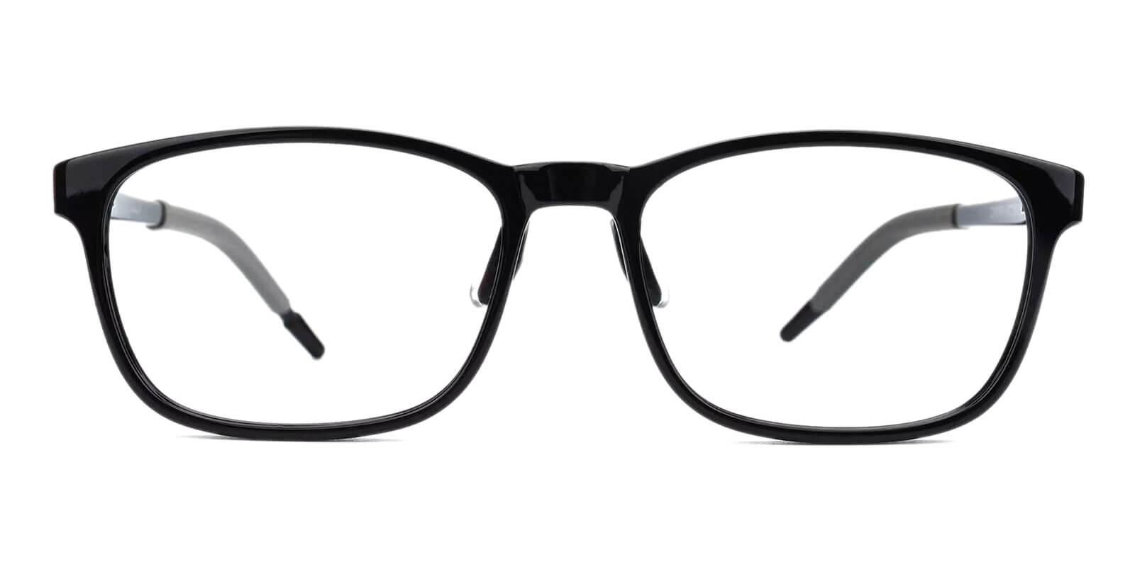 Sparkle Black Acetate , TR Eyeglasses , Lightweight , NosePads , UniversalBridgeFit Frames from ABBE Glasses