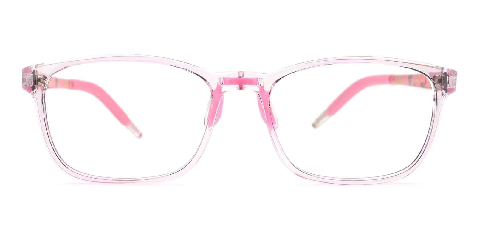 Kids-Sparkle Pink Acetate , TR Eyeglasses , Lightweight , NosePads , UniversalBridgeFit Frames from ABBE Glasses