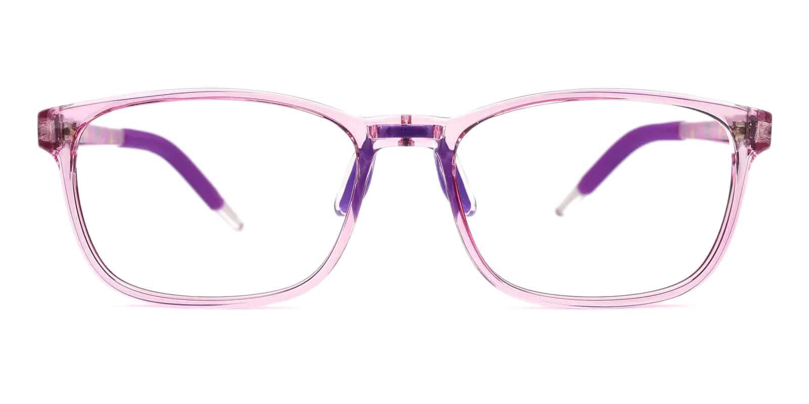 Sparkle Purple Acetate , TR Eyeglasses , Lightweight , NosePads , UniversalBridgeFit Frames from ABBE Glasses