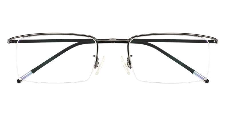 Gun Wit - Metal Eyeglasses , NosePads
