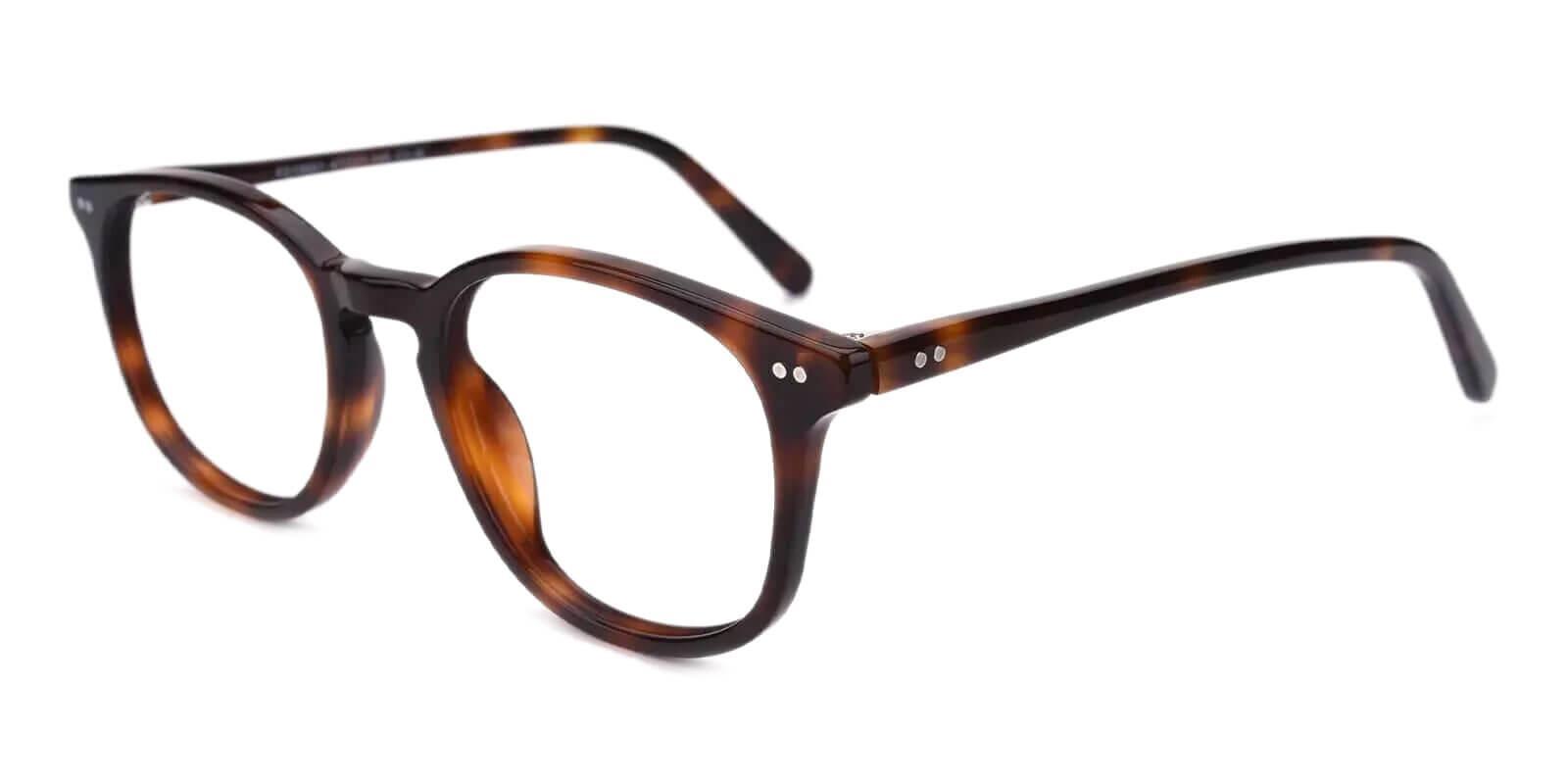 Venus Tortoise Acetate Eyeglasses , UniversalBridgeFit Frames from ABBE Glasses