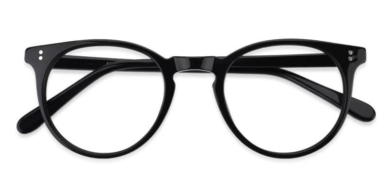 Black Mercury - Acetate Eyeglasses , UniversalBridgeFit