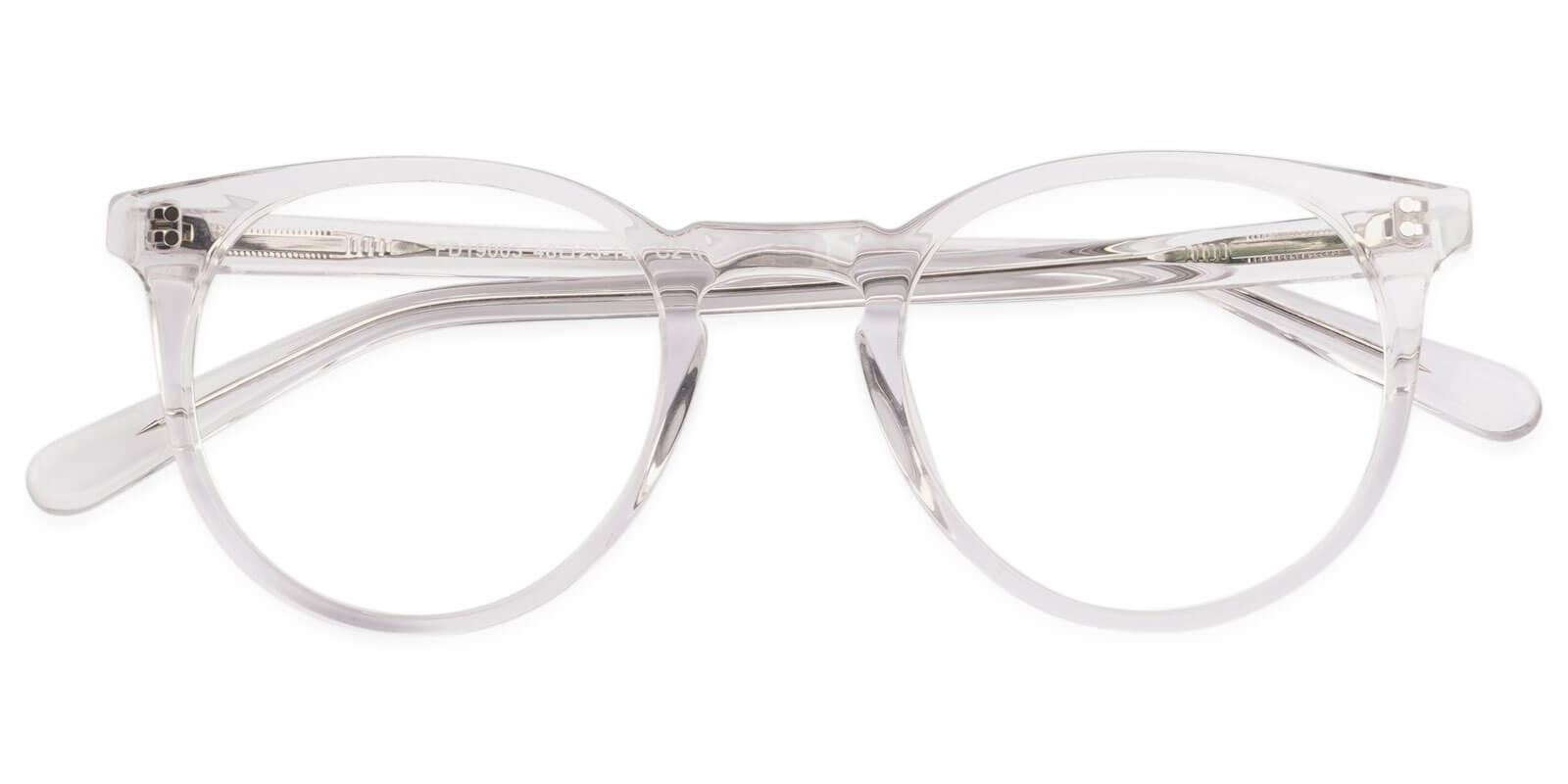 Mercury Translucent Acetate Eyeglasses , UniversalBridgeFit Frames from ABBE Glasses