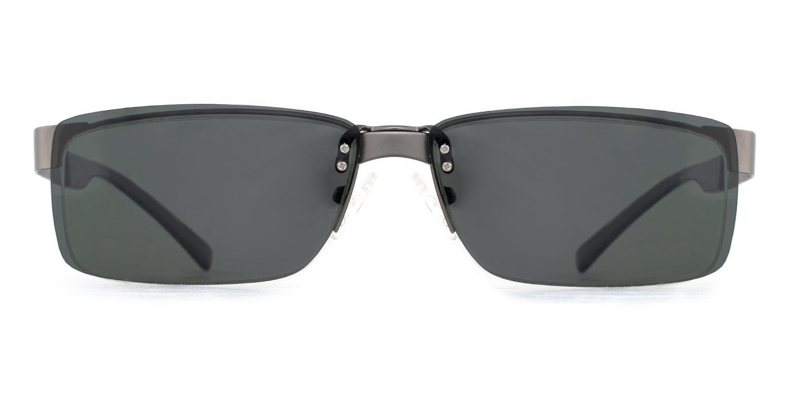 Earth Gun Metal Eyeglasses , NosePads Frames from ABBE Glasses