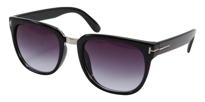 Black Mars - Acetate Sunglasses , UniversalBridgeFit