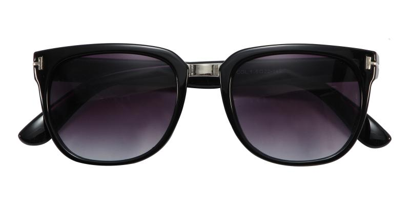 Black Mars - Acetate Sunglasses , UniversalBridgeFit