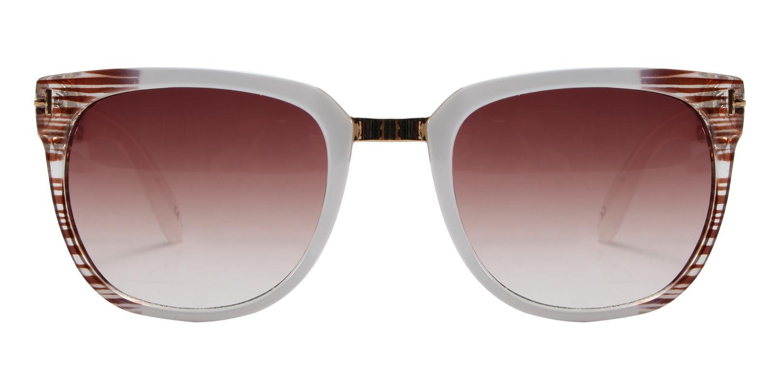 Mars Striped Acetate Sunglasses , UniversalBridgeFit Frames from ABBE Glasses