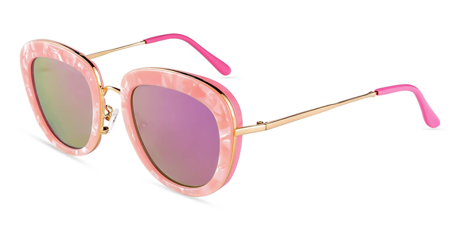Jupiter Pink  NosePads , Sunglasses Frames from ABBE Glasses