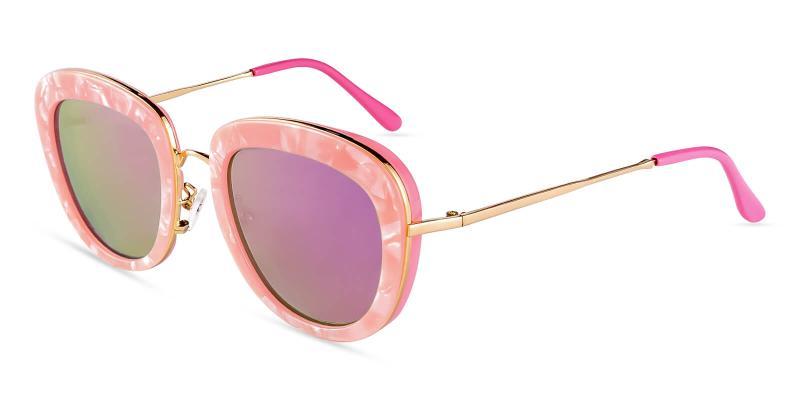 Pink Jupiter -  NosePads , Sunglasses