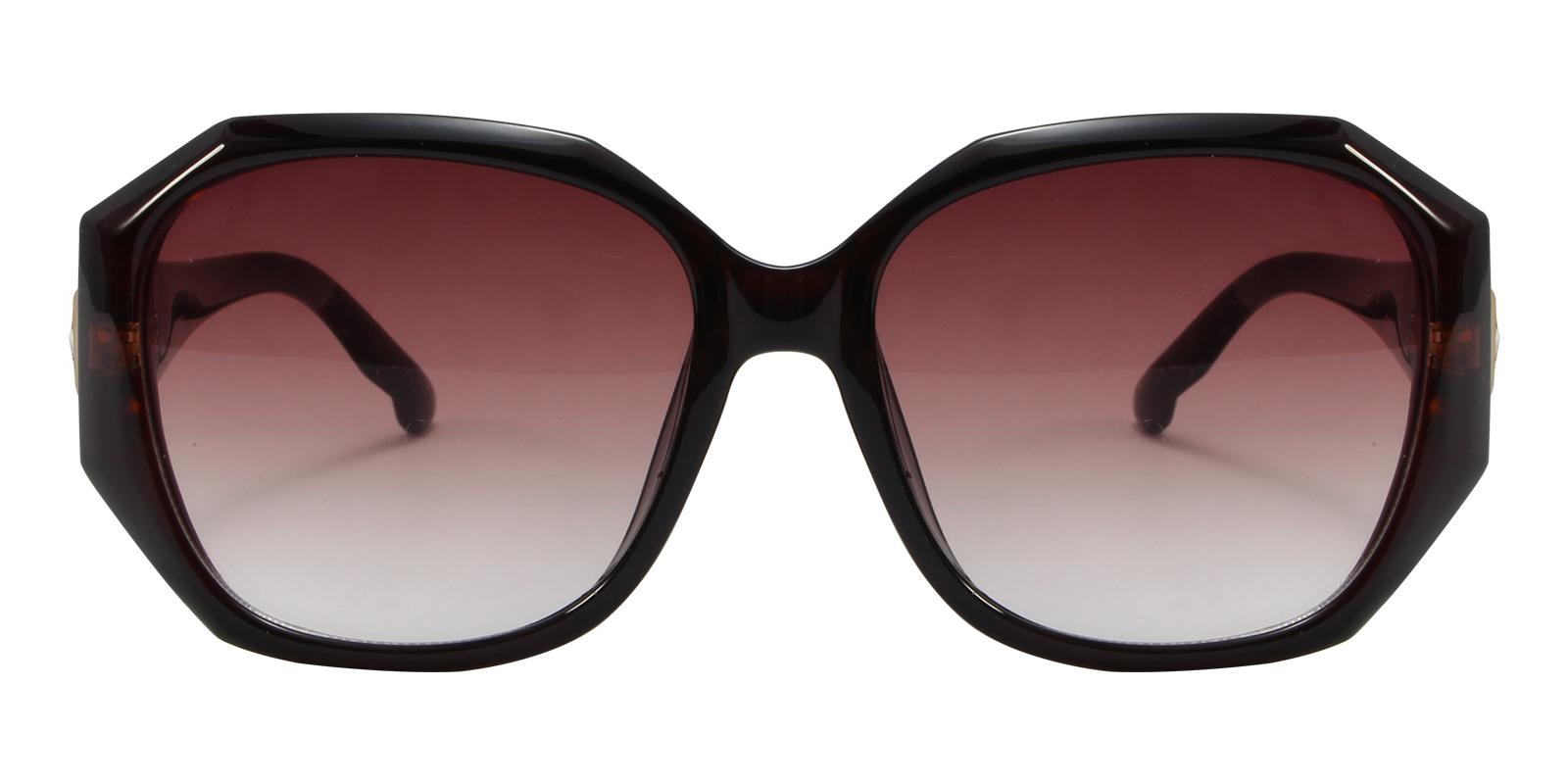 Saturn Brown Acetate Sunglasses , UniversalBridgeFit Frames from ABBE Glasses