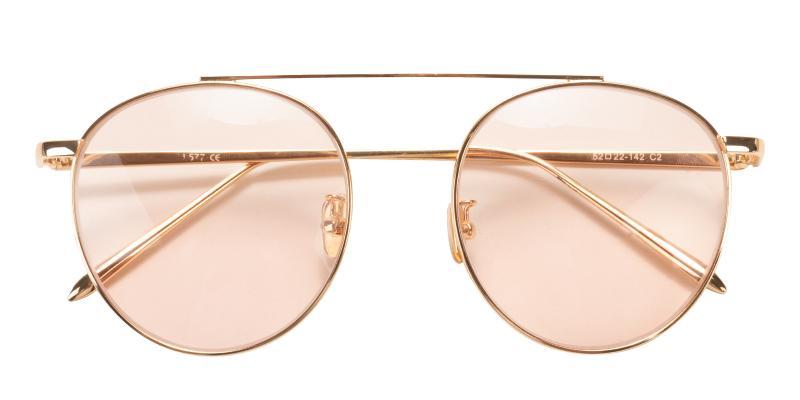 Gold Squrel - Metal , Metal NosePads , Sunglasses