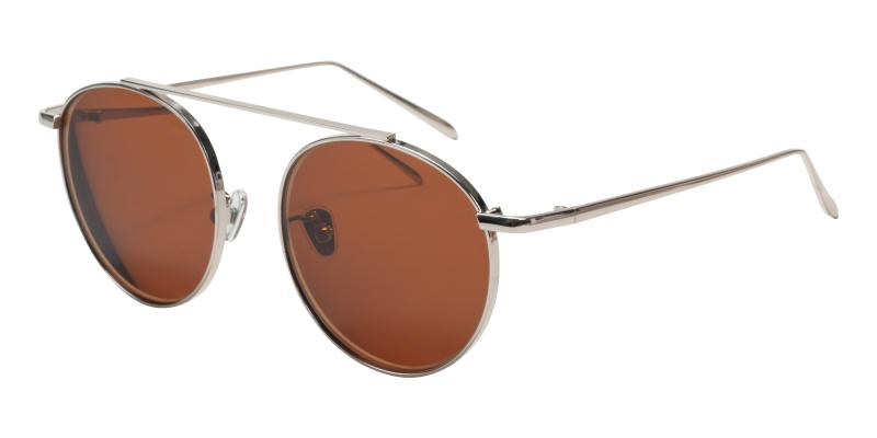 Silver Squrel - Metal ,Sunglasses