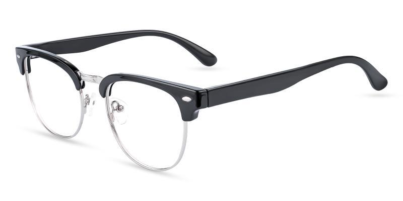 Black Uranus - TR Eyeglasses , NosePads