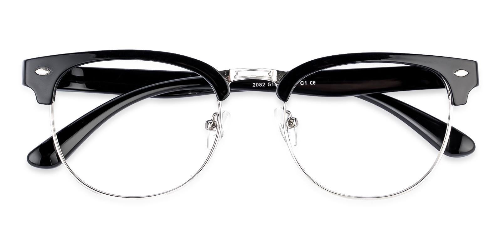 Uranus Black TR Eyeglasses , NosePads Frames from ABBE Glasses