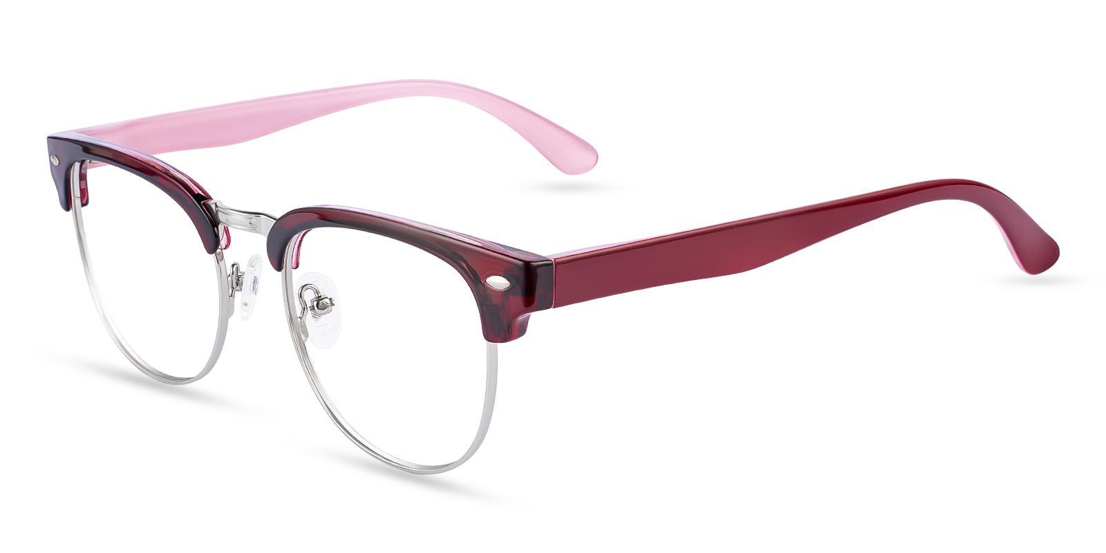 Uranus Red TR Eyeglasses , NosePads Frames from ABBE Glasses