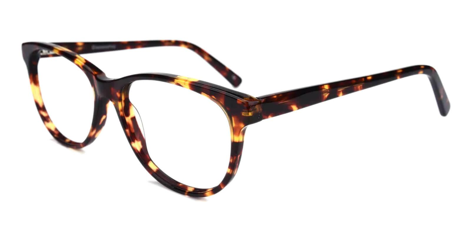 Neptune Pattern Acetate Eyeglasses , SpringHinges , UniversalBridgeFit Frames from ABBE Glasses