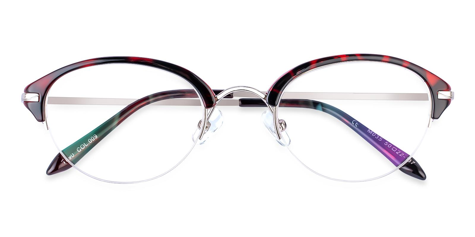 Solar Red Metal , TR Eyeglasses , NosePads Frames from ABBE Glasses