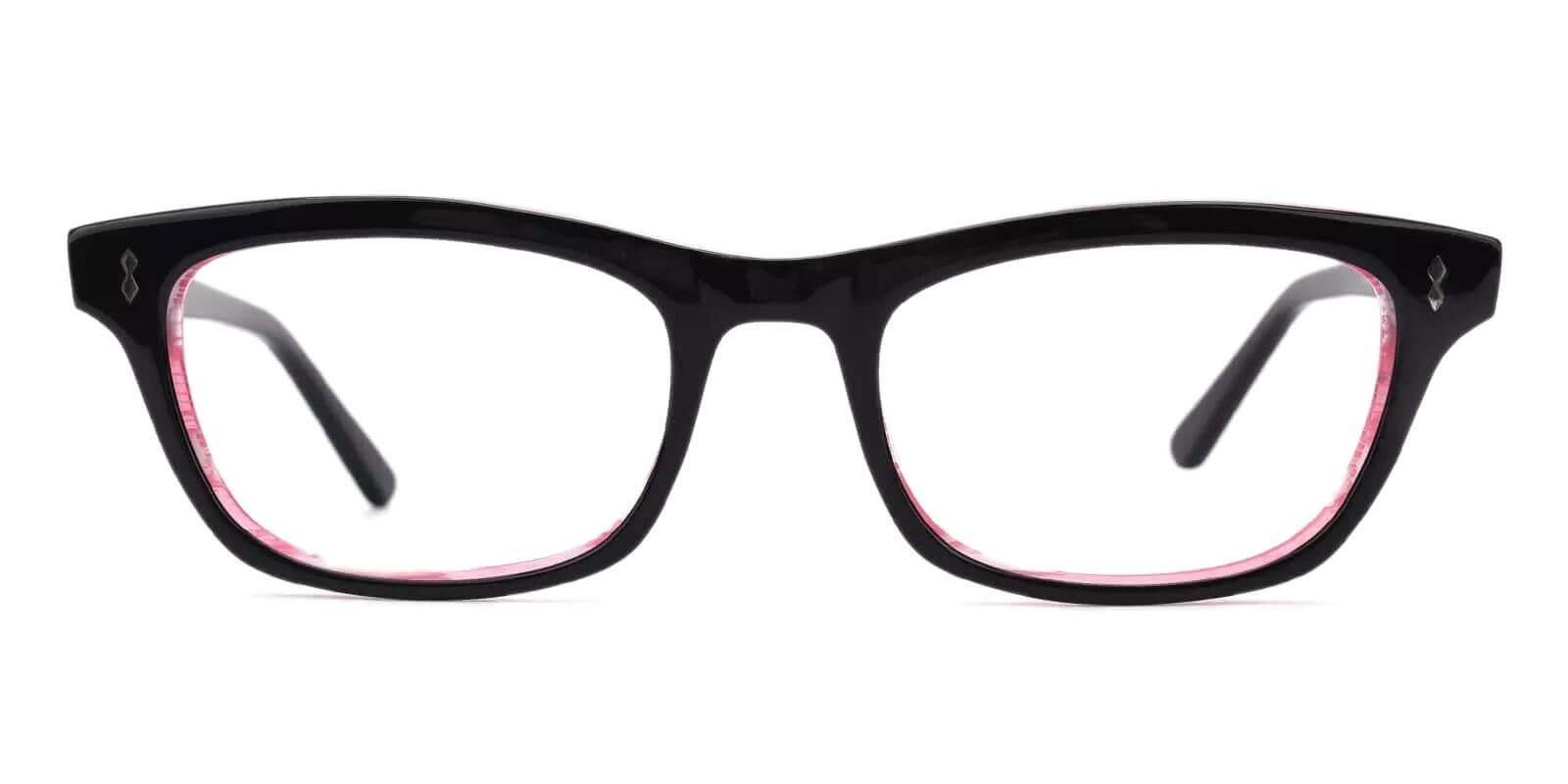 Leaf Pink Acetate Eyeglasses , UniversalBridgeFit Frames from ABBE Glasses