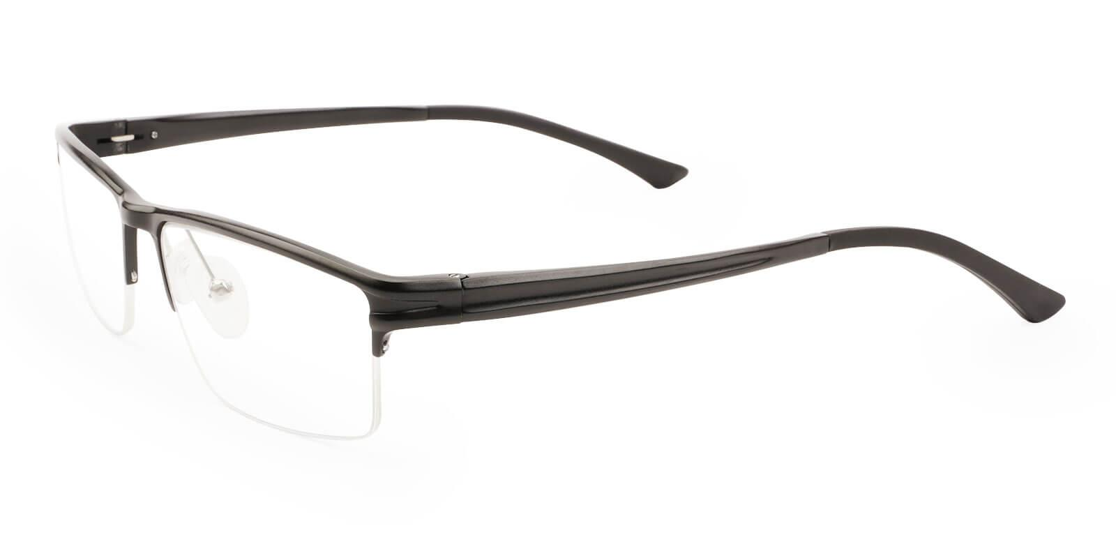 Seagull Black Metal NosePads , SportsGlasses , SpringHinges Frames from ABBE Glasses