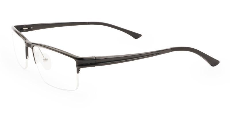 Black Seagull - Metal NosePads , SportsGlasses , SpringHinges