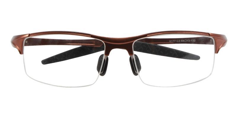Alan - Metal NosePads , SportsGlasses , SpringHinges