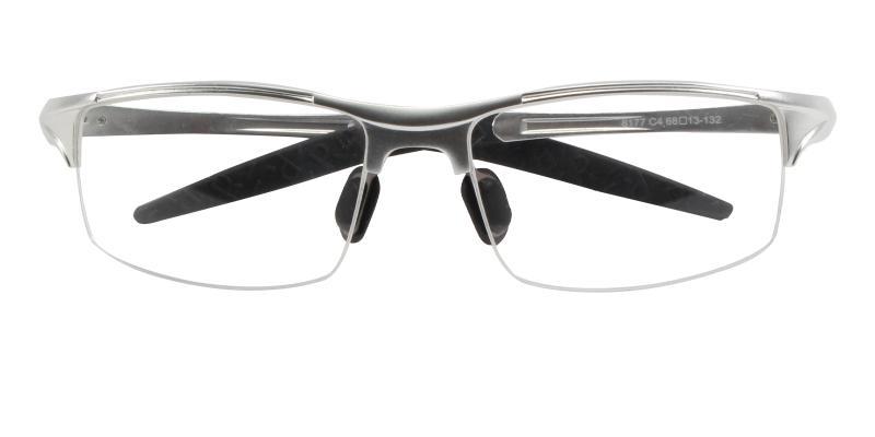Silver Alan - Metal NosePads , SportsGlasses , SpringHinges