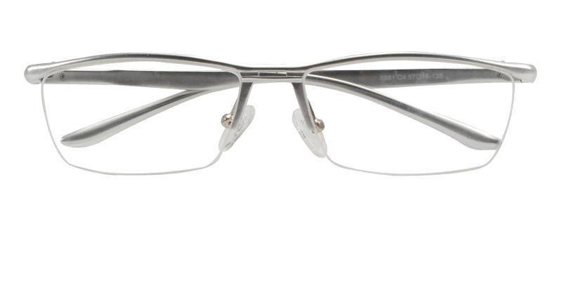 Silver Vital - Metal NosePads , SportsGlasses , SpringHinges