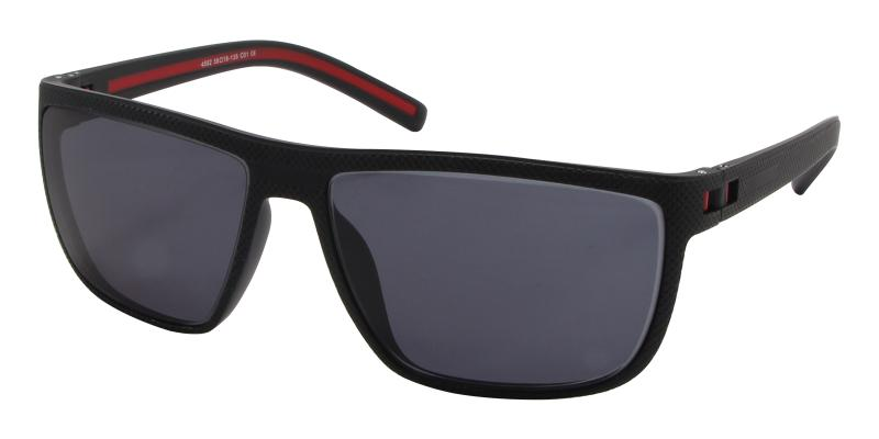 Black Tropic - TR SpringHinges , Sunglasses , UniversalBridgeFit