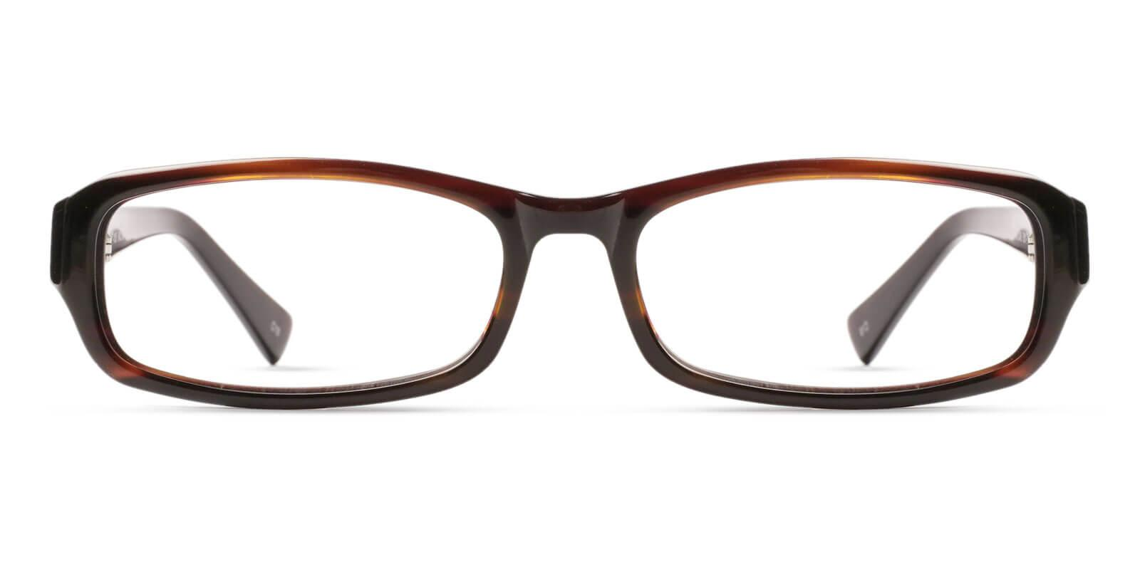 Firma Brown Acetate Eyeglasses , UniversalBridgeFit Frames from ABBE Glasses