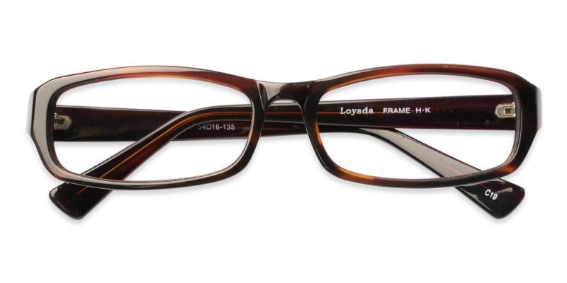 Brown Firma - Acetate Eyeglasses , UniversalBridgeFit