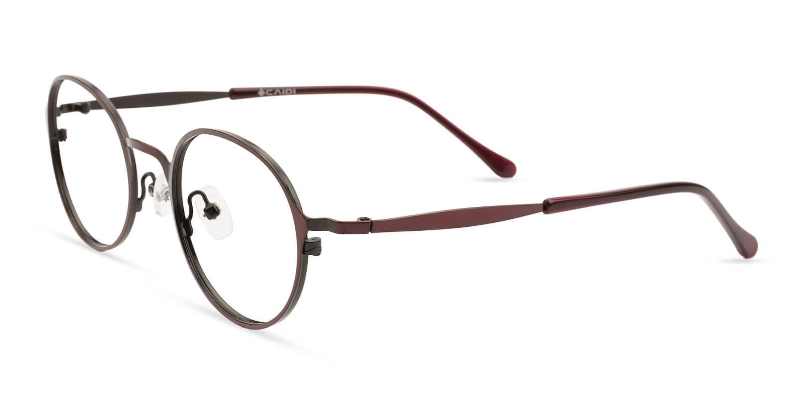 Toughery Red Metal NosePads , Eyeglasses Frames from ABBE Glasses