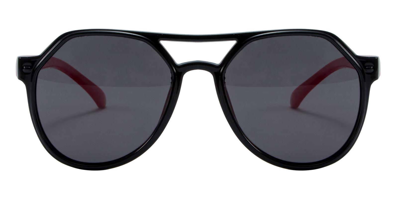 Pilot Black TR Sunglasses , UniversalBridgeFit Frames from ABBE Glasses