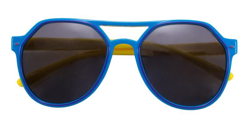 Blue Kids-Pilot - TR Sunglasses , UniversalBridgeFit