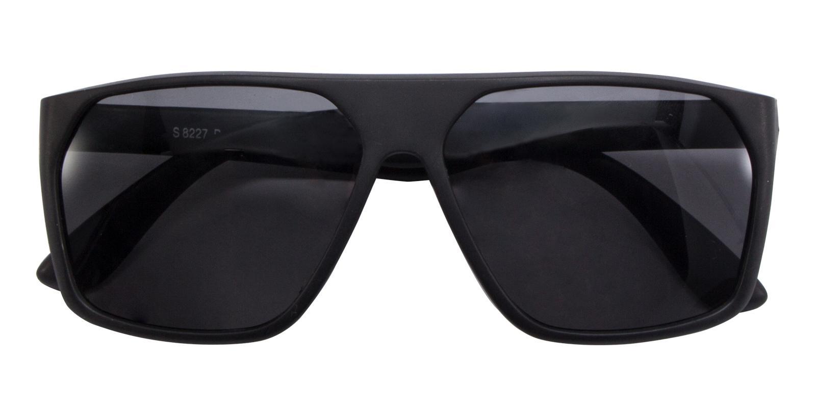 Sesamo Black TR Sunglasses , UniversalBridgeFit Frames from ABBE Glasses