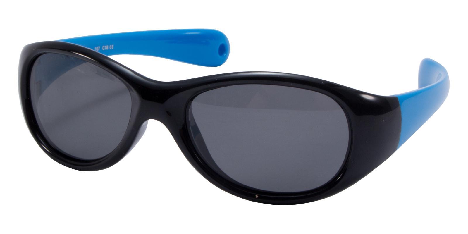 Sulphur Black TR Sunglasses , UniversalBridgeFit Frames from ABBE Glasses